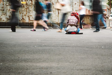 homeless on the streets