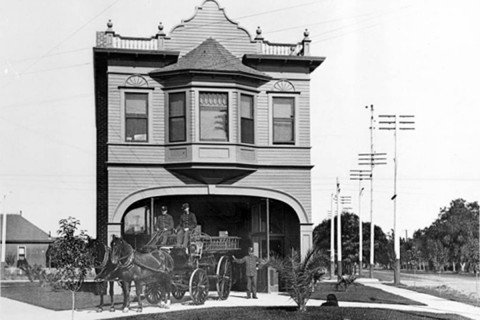 Fire Station No. 15 archival