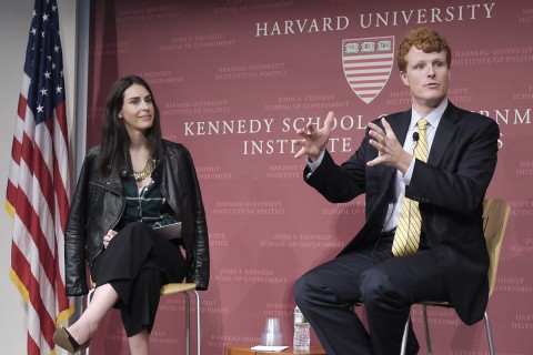 Spillane and Joe Kennedy