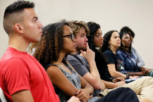 Students at diversity summit