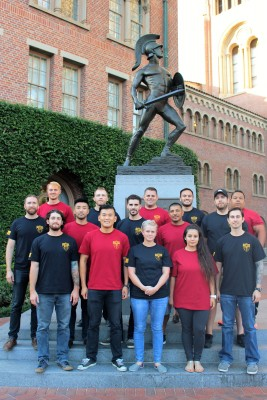 USC Veterans Association members