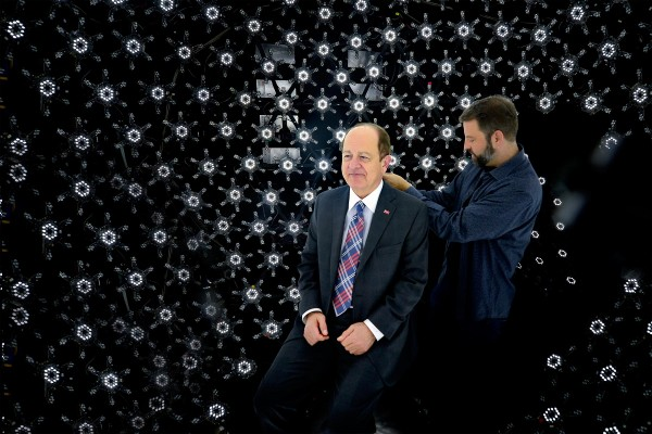 Nikias in Light Stage sphere