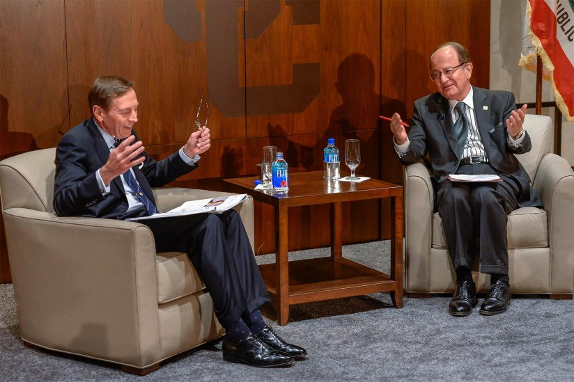 David Petraeus and C. L. Max Nikias