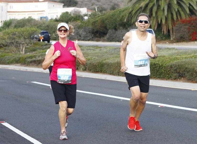 Steve Chaffee runs