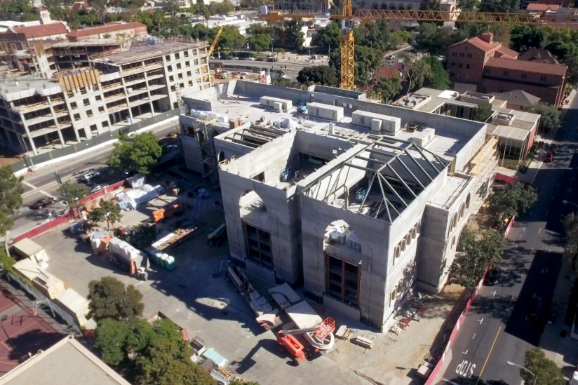 Kaufman School Construction