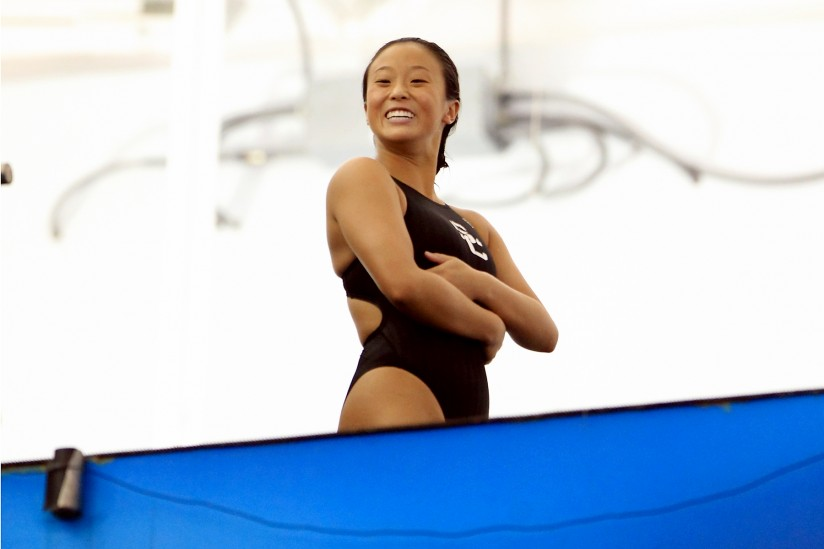 Haley Ishimatsu, diver, woman sports,