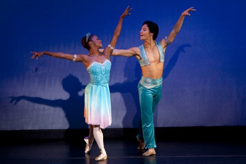 "USC Kaufman dancers perform ""LeCorsaire"""