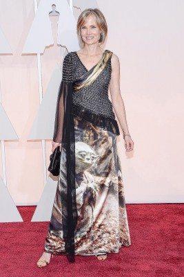 Willow Bay arrives at the Academy Awards in February. (Associated Press Photo/Anthony Behar)