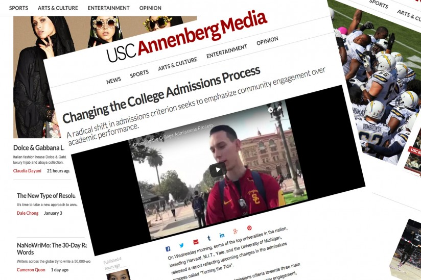 USC Annenberg launches new site powered by The Washington Post - USC