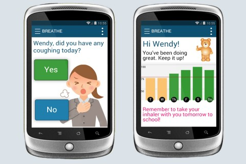 children's asthma prediction app FEATURE