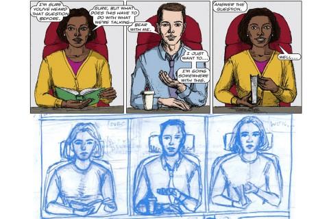 Clifford Johnson, graphic novel,