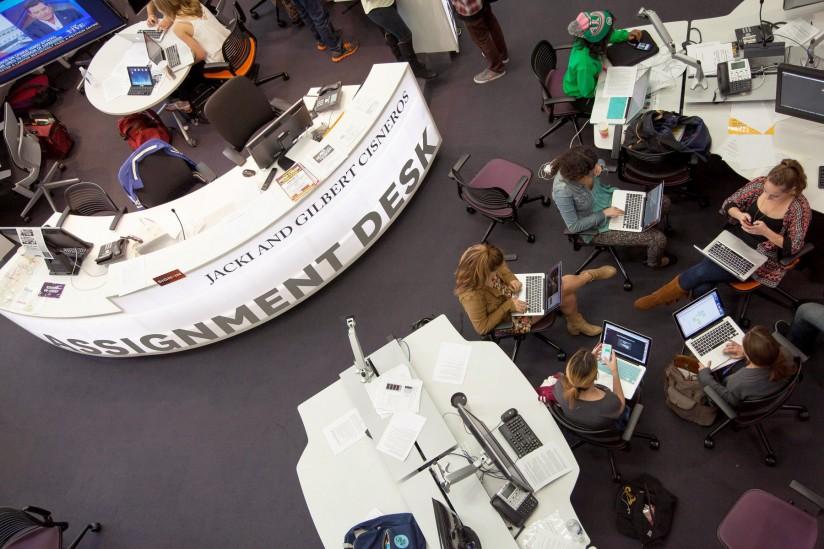 Media Center of Wallis Annenberg Hall