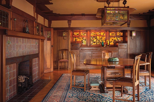 Superbe Photo By Alexander Vertikoff From The Gamble House Book