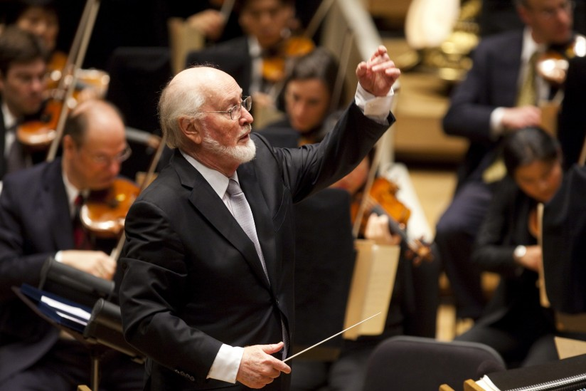 John Williams conducts in Chicago