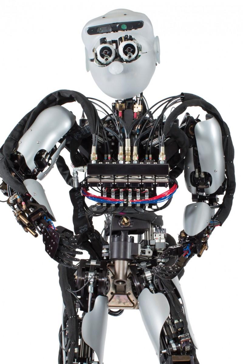 Sarcos humanoid robot