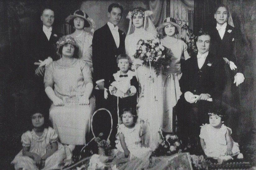 1929 Syrian wedding