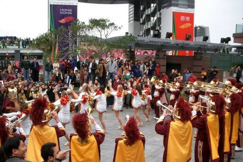 Trojan Band in Hong Kong 2004
