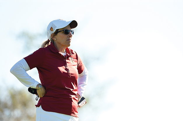 Golf Coach Andrea Gaston Lessons Learned On The Green Trojan Family Magazine