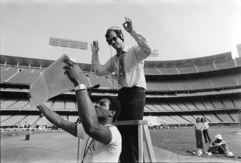 Art Bartner at Dodger Stadium