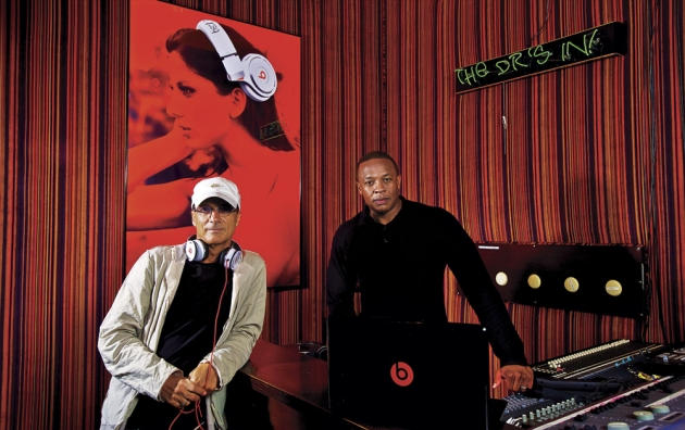 Jimmy Iovine and Andre Young