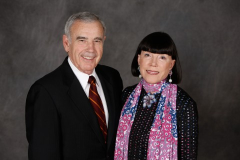 Portrait of Edward and Gayle Roski