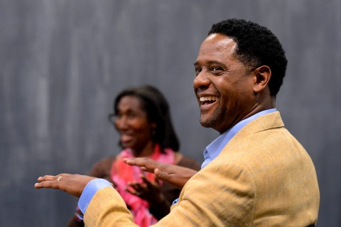 Blair Underwood at USC