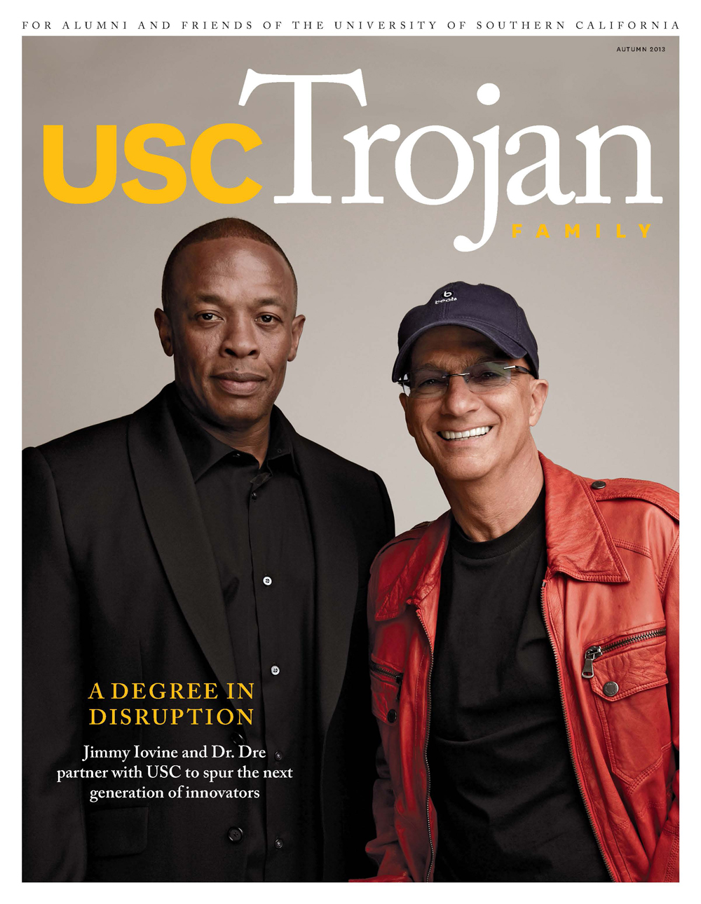 Autumn 2013 Trojan Family Magazine cover