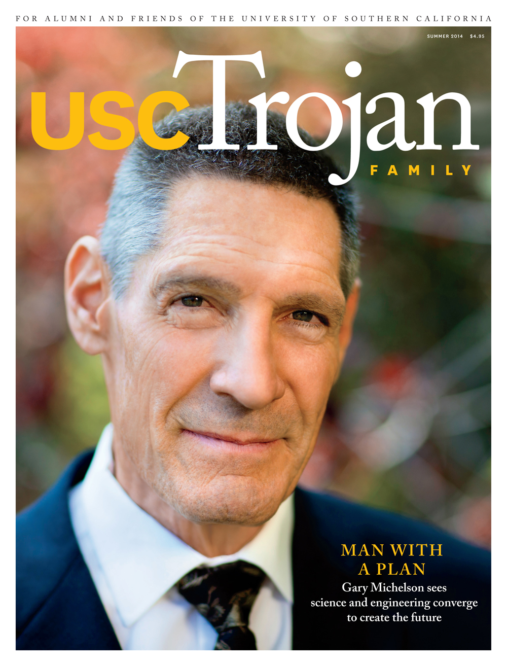 Summer 2014 Trojan Family Magazine cover
