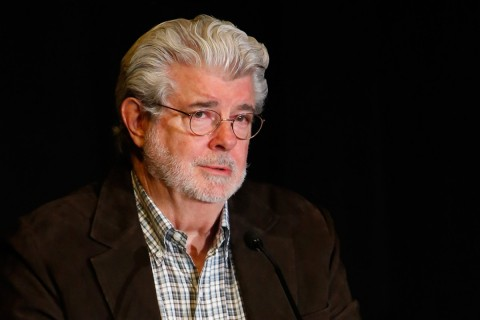 George Lucas '66 photo by Steve Cohen