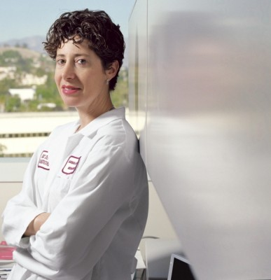 Barbara J. Gitlitz, associate professor of medicine, Keck School of Medicine of USC. Photo by Steven A. Heller