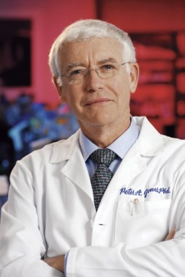 Peter A. Jones, Distinguished Professor of Urology and Biochemistry and Molecular Biology. Photo by Don Milici