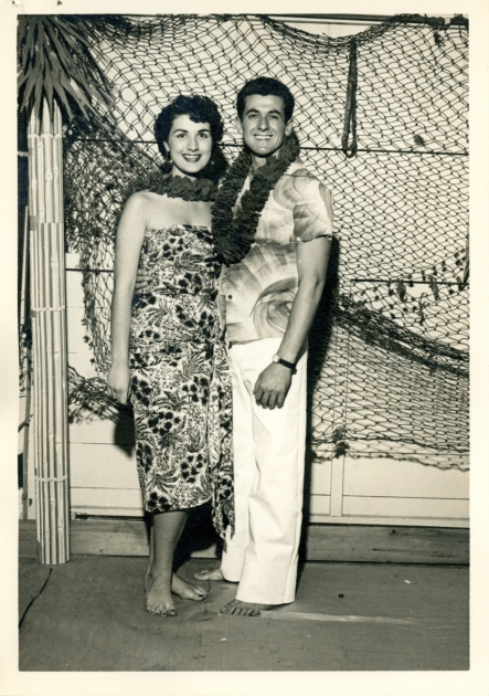Jim and Mary Manos on their first date in 1954. Photo courtesy of Jim and Mary Manos