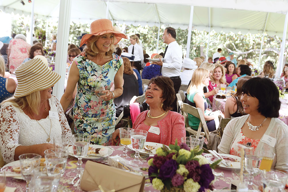Hosting Ladies' Tea