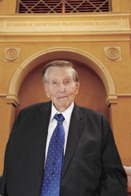 Sumner Redstone. (Photo by Steve Cohn)