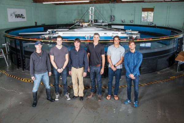 USC's Adam Fincham and his team want to create the perfect wave machine. Photo courtesy of USC Viterbi/ Noe Montes