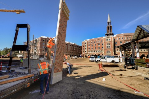 USC Village construction
