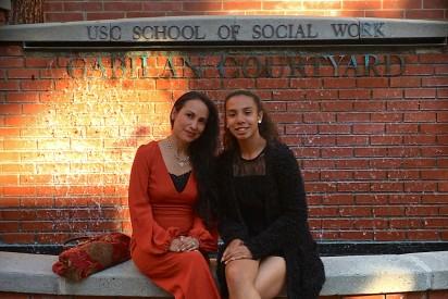 Erelda Casaya-Wright and daughter