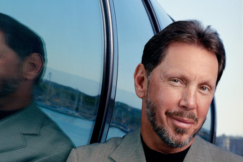 Larry Ellison Portrait