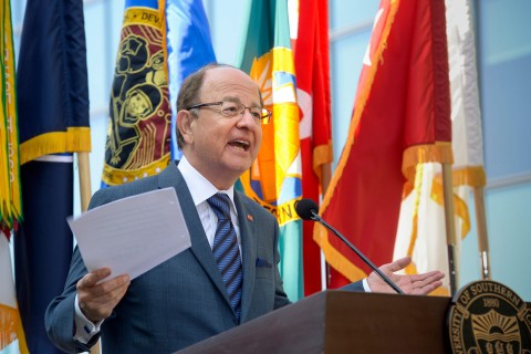 President Nikias speaks