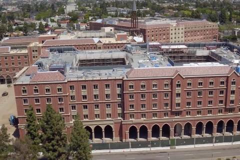 USC Village drone video