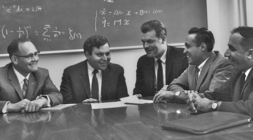 1963 photos of math professors