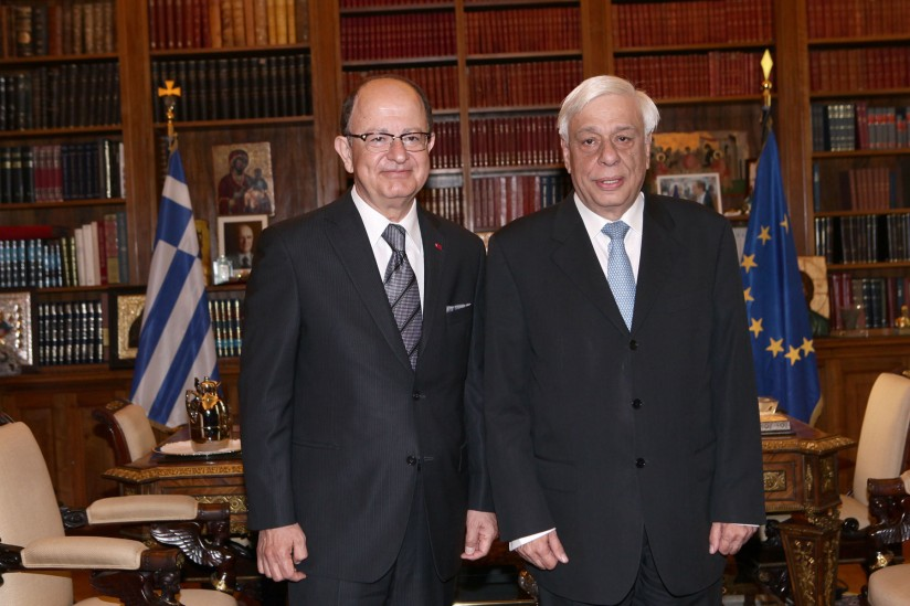Nikias and president of the Hellenic Republic