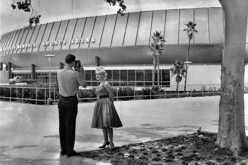 LA Memorial sports arena in 1961