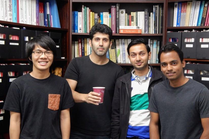 winning research team
