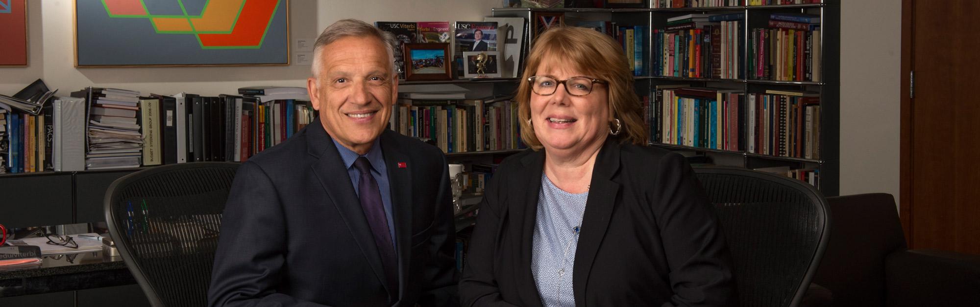 Yannis C. Yortsos and Louise Yates