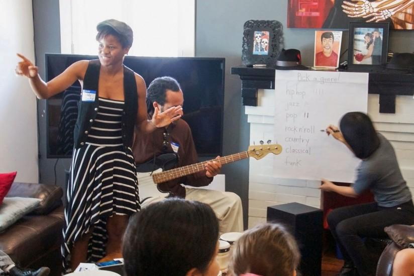 Noddy Nweke teaching