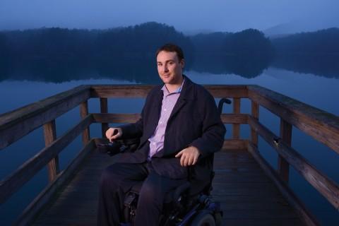Ryan Wiliams on dock