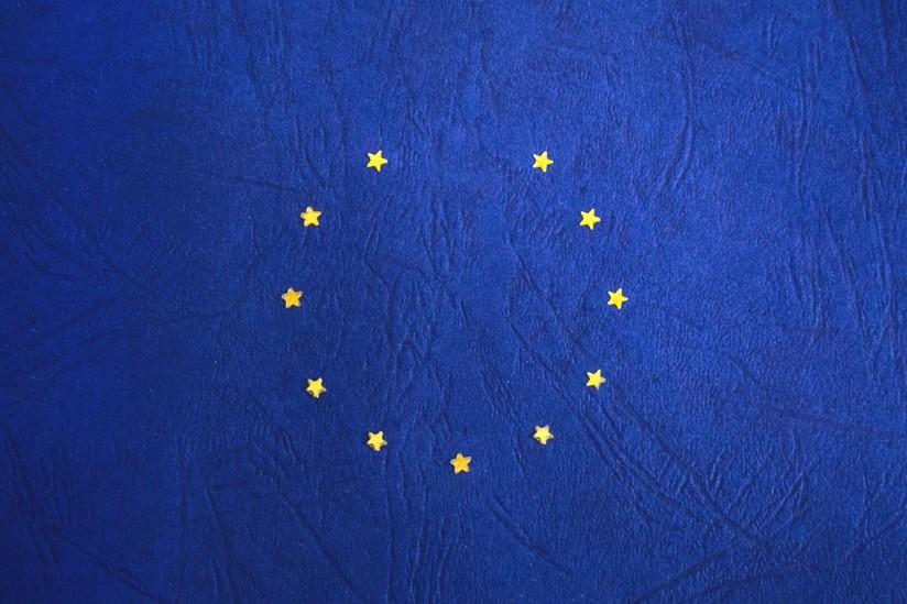 European Union flag, minus one star