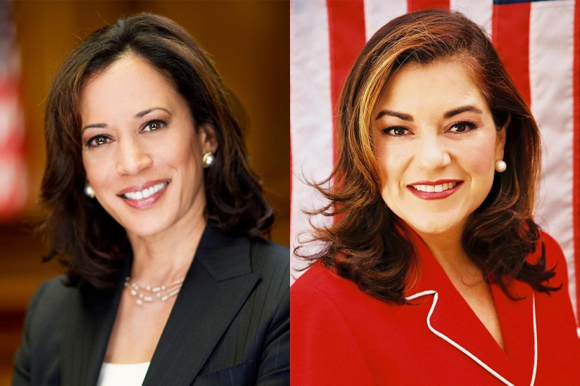 Kamala Harris and Loretta Sanchez