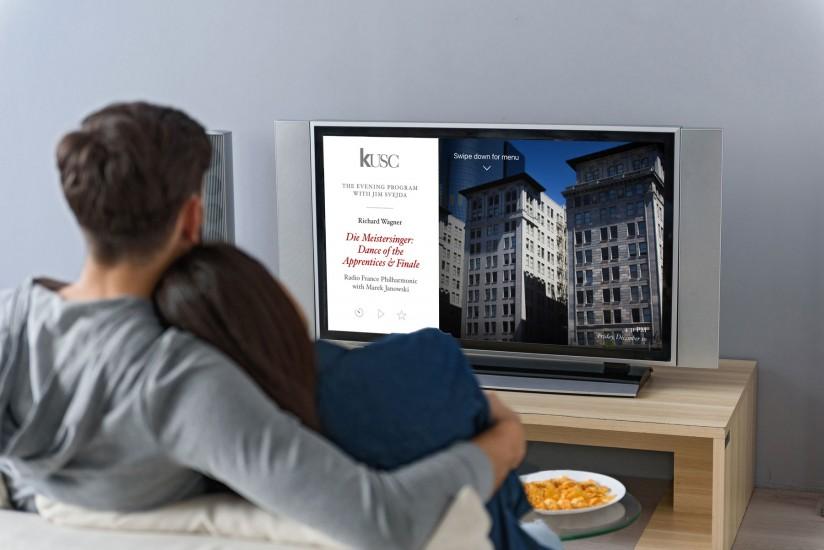 KUSC apple TV